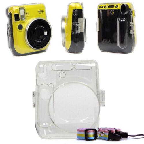 For Fujifilm Instax Mini 70 Camera Carrying Crystal Clear Ha