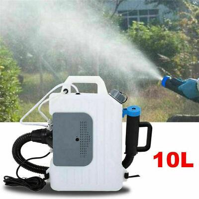 10L Electric ULV Fogger Backpack Sprayer Disinfection Spray Fogging Machine 220V