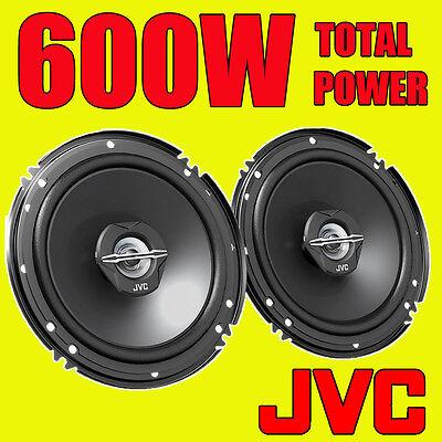 JVC 600W TOTAL 2-WAY 6.5 INCH 16cm CAR VAN DOOR/SHELF COAXIAL SPEAKERS...