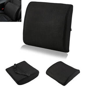 Memory Foam Lumbar Back Support Cushion Waist Pillow Office Home Car Chair Seat