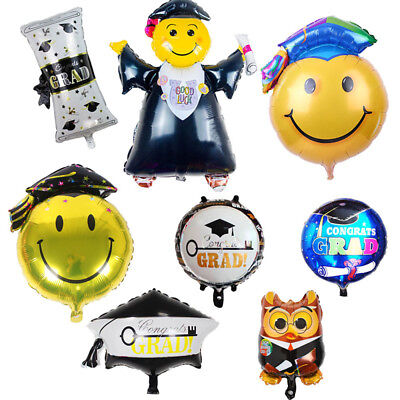 2pcs Graduation Party Decoration Ceremony Decor Inflatable Toys Foil - Graduation Ceremony Decorations