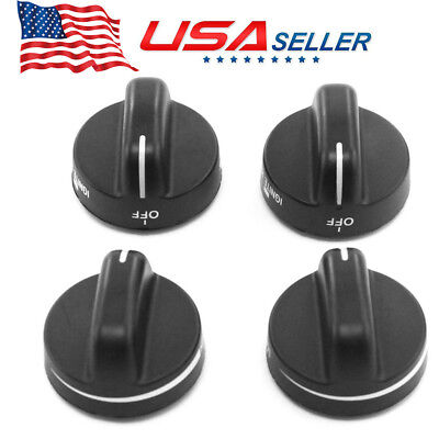 4x Best Oven Gas Stove Range Knob Replaces for Whirlpool Sears AP3085376