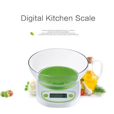 Food Balance Home Kitchen Electronic Scale With Bowl LED Weight Digital Z