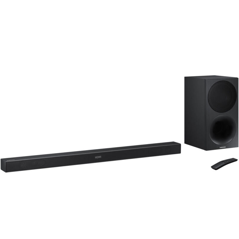 Samsung HWM450 320-Watt 2.1 Channel Soundbar with Wireless Subwoofer, HDMI Input