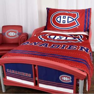 NHL Montreal Canadiens 3 Piece Toddler Bedding Set