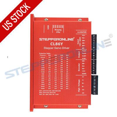 Stepperonline Nema 34 Closed Loop Stepper Motor Driver 0-8.5a 20-80vac30-110vdc
