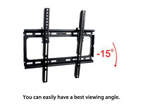 Compact Tilt TV Wall Mount Bracket for LCD LED Plasma Television 26 – 55""
