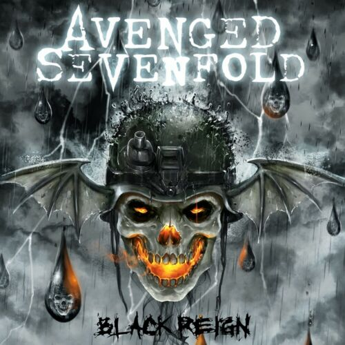Avenged Sevenfold Black Reign EP 12x12 Album Cover Replica Poster
