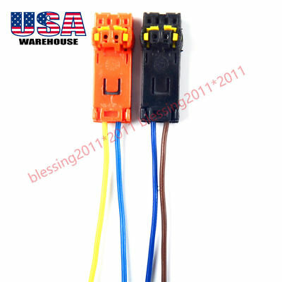 For SIENNA Tacoma AIR BAG AIRBAG CLOCKSPRING PLUGS WIRE CONNECTOR X2 AAA comprar usado  Enviando para Brazil