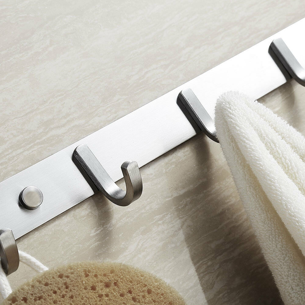 New Wall Mounted Clothes Hangers Clothes Towel Robe Holder