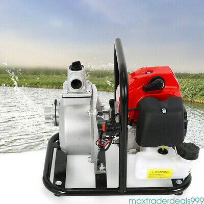 2stroke 1.7hp Petrol Water Transfer High Pressure Pump Flow Irrigation 43cc 110v