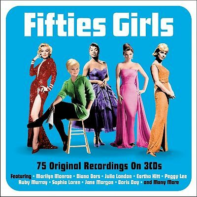 Fifties Girls VARIOUS ARTISTS Best Of 75 Songs ESSENTIAL 50s Music NEW 3