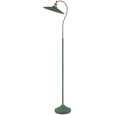 At Home Comforts Vintage Inspired Gooseneck Metal Floor Lamp - WAS £44