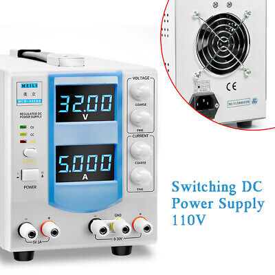 Variable Linear Dc Bench Power Supply Adjustable Hand-held Circuit Design Ac110v