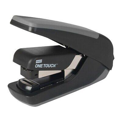 Staples One-touch Cx-4 Compact Desktop Stapler Quarter-strip Cap. Black 576346