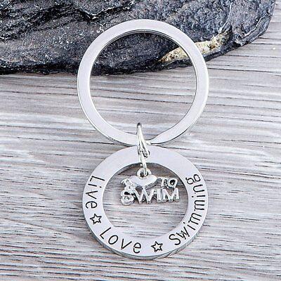 Swim Keychain, Swim Jewelry,  Perfect Gift For Swimmers & Swim