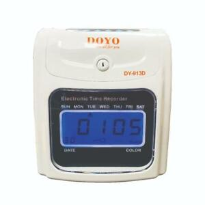 A913 Automatic Time Clock / Time Attendance Machine / Time Recorder PROMOTIONAL SALE!! Best price ever!