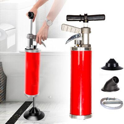 Portable Water Ramtoilet Plungerhigh Pressure Powerful Cleaner Pump Us Stock