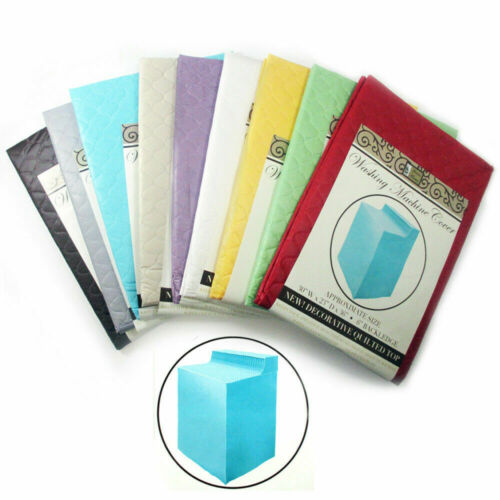 1 Vinyl Waterproof Quilted Washing Machine Dryer Cover Dust Protection Top Color
