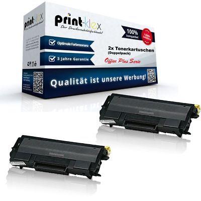 Hl6050 Serie (2x Kompatible Tonerkartuschen für Brother HL-6050-DN Laserka - Office Plus Serie)