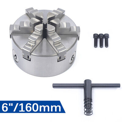 6 Lower Jaw Self-centering Chuck Body K13-160 Manual Lathe Chuck For Cnc Lathes