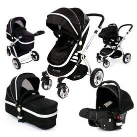 I safe 3 in 1 travel system