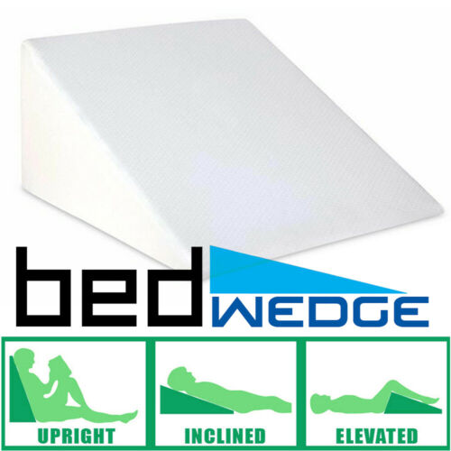 """25"""" Bed Wedge Pillow Foam Body Positioner Elevate Back Neck"""