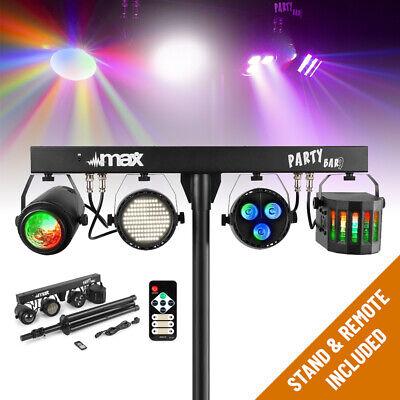 B-Stock LED Party Bar Light PAR Derby Strobe Disco Stage DJ T Lighting System