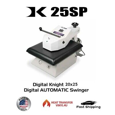 Geo Knight Dk25sp Automatic 20x25 Digital Swing-away Press