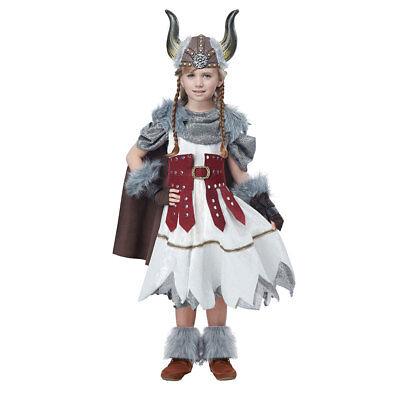 Girls Valorous Viking Halloween - Halloween Costume Teen Girl