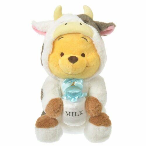 Winnie the Pooh Plush L size Ox Cow Eto Disney 2021 Milk Costume Disney