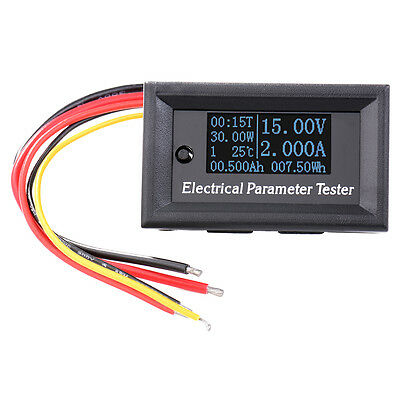 7-in-1 OLED Electrical Parameter Meter Voltage Power Energy Tester 33V 3A