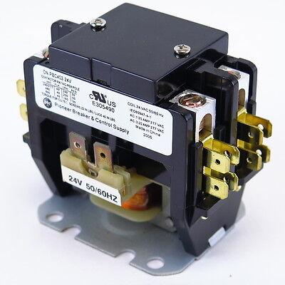 New Definite Purpose Contactor 2 Pole 4050amp Cn-pbc402-24v Coil