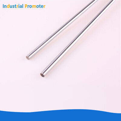 2pcs Od 10mm X 600mm Bearing Steel Optical Axis Cylinder Rail Linear Shaft Rod