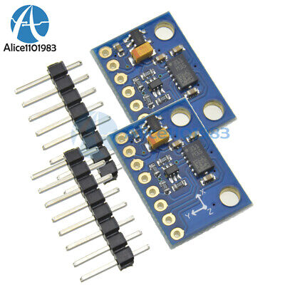 2pcs Lsm303dlhc E-compass 3-axis Accelerometer And 3 Axis Magnetometer Module