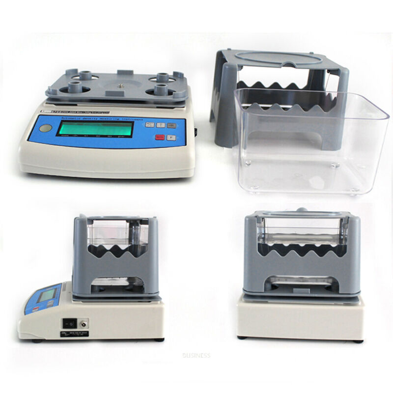 Solid Density Meter Electronic Densitometer LCD Display for PVC Plastic Rubber