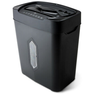 Aurora Au1010ma High-security 10-sheet Micro-cut Paper Credit Card Shredder