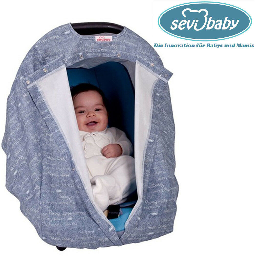 Sevibaby Jeany Sitzabdeckung Autoschale Abdeckung Baby Autositz Sonnendach 237-3
