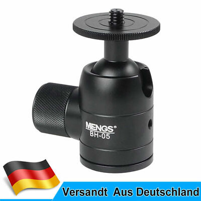 MENGS BH-05 MINI Kugelkopf mit Aluminium Legierung Für DSLR Kamera und Stativ