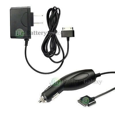 """RAPID Battery Wall AC+Car Charger for Samsung Galaxy TAB TABLET 10.1"""" 1,200+SOLD"""
