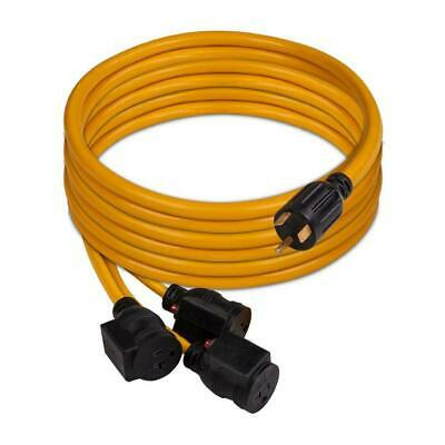 Firman 1101 Power Cord Tt-30p 30-amp To 5-20rx3 25-foot