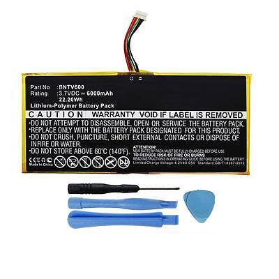 6000mah Gb-s02-308594-0100 Battery For Barnes & Noble Noo...