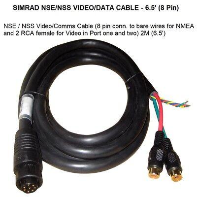 SIMRAD NSE/NSS VIDEO/DATA CABLE - 6.5 Foot (8 PIN) 49115