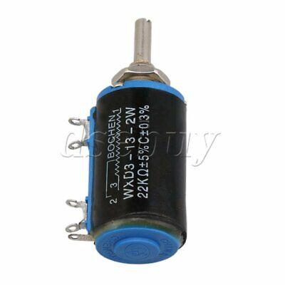 22k Ohm Precision Multi-turn Potentiometer Multi-turn Resistor Wxd3-13 2w