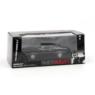 """Greenlight Hollywood Series: 1968 Dodge Charger """"Bullitt"""" 1/43 Scale"""
