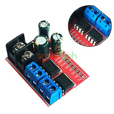 5a Dual Dc Motor Driver Remote Control Double H-bridge Pwm Speed Control Module