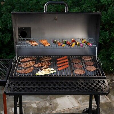 Large Grill Outdoor BBQ Grills Charcoal Professional XL Backyard Cooker Smoker (Large Bbq Grill)
