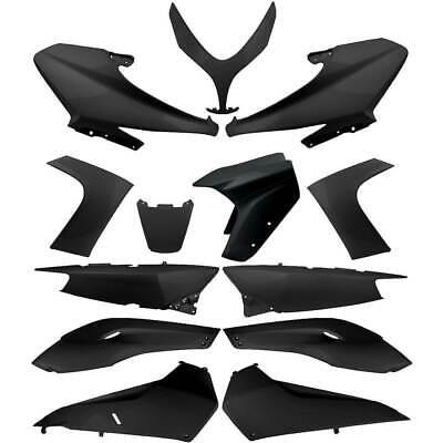 Set 13 Pieces Fairing Fairings Shiny Black Yamaha 500 XP T-Max SJ031 2008-2011