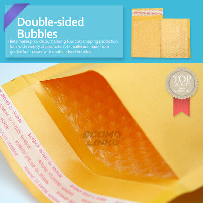 4x7 4x6 Inch Kraft Self Seal Bubble Mailer Padded Envelope 0000 2550100500