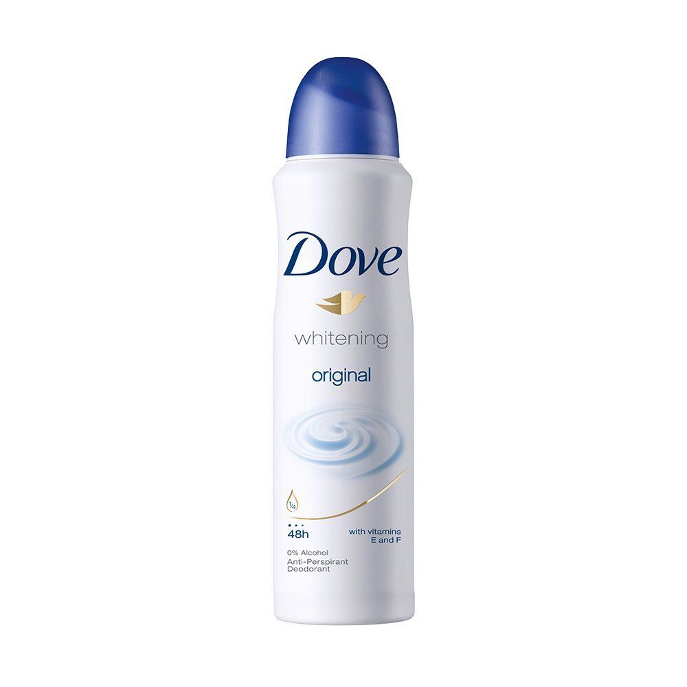 Dove Whitening Original Antiperspirant Deo 0%Alcohol With Vi